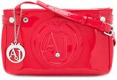 Armani Jeans logo embossed crossbody bag