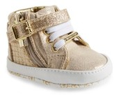 MICHAEL Michael Kors Infant Girl's Rio High Top Crib Shoe