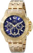 Invicta Men's 17447 Specialty Analog Display Japanese Quartz Gold Watch