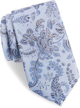 Calibrate Trevis Floral Silk & Cotton Tie