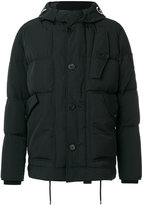 Givenchy embroidered logo padded jacket - men - Feather Down/Polyamide/Spandex/Elastane/Goose Down - 46