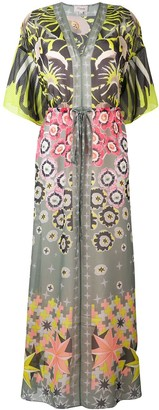 Temperley London Beaumont Claudette kaftan dress