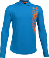Under Armour Two-Tone Ua Tech Hooded Shirt, Big Boys