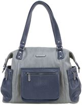 Timi & Leslie Abby 7-Piece Diaper Bag Set in Grey/Navy
