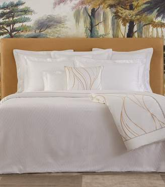 Yves Delorme Plissee Single Fitted Sheet (90Cm X 190Cm)