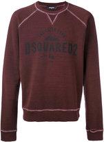 DSQUARED2 Caten Peak logo sweatshirt - men - Cotton - S
