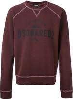 DSQUARED2 Caten Peak logo sweatshirt