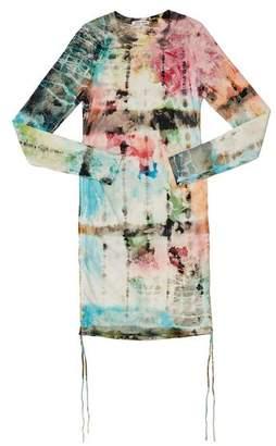 Cotton Citizen The Lisbon Shirt Dress In Kaleidoscope Sky - XS