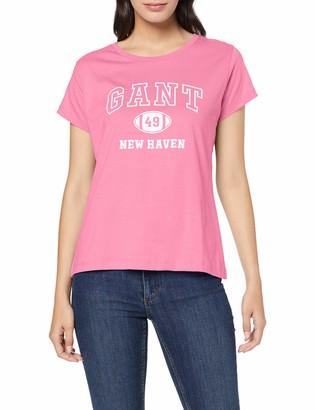 Gant Women's MD. The Summer Logo SS T-Shirt