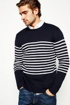 Jack Wills Todd Breton Stripe Crew Neck Jumper