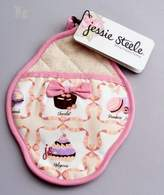 Jessie Steele French Pastries Scalloped Pot Mitt with Bow