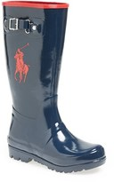 Ralph Lauren Infant 'Ralph' Rain Boot