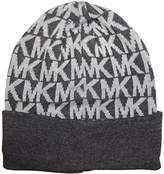 Michael Kors Women's Coldwater Knit Hat Derby/Heather Grey