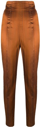 Romeo Gigli Pre Owned 1990s High-Waisted Trousers
