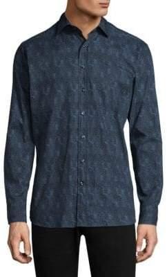 Etro Printed Casual Button-Down Shirt