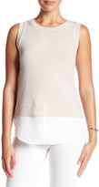 Brochu Walker Wool-Cashmere Blend Looker Tank