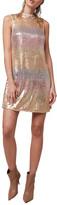 Diane von Furstenberg As By Stardust Sequin Shift Dress