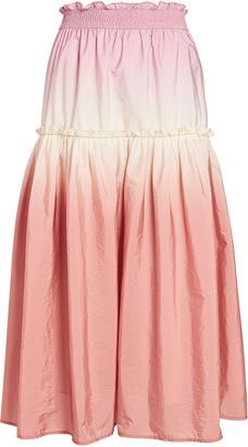 Sea Zanna Ombre Dip-Dye Skirt