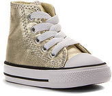 Converse Girls' Chuck Taylor All Star Metallic Canvas Hi Infant/Toddler