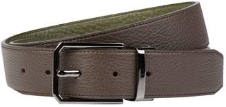 Pal Zileri Grained Leather Belt