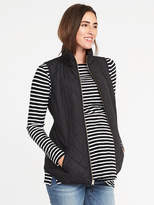 Old Navy Maternity Quilted Frost-Free Vest