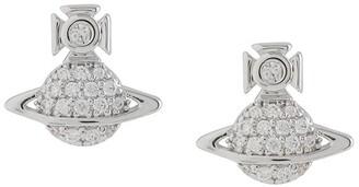 Vivienne Westwood Tamia rhinestone-embellished earrings