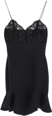 Alexander McQueen Mini Dress With Lace