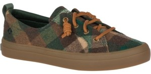 Sperry Women's Crest Vibe Plaid Wool Sneakers Women's Shoes