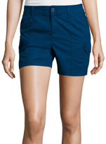 ST. JOHN'S BAY St. John's Bay Poplin Cargo Shorts
