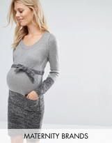 Mama Licious Mama.licious Mamalicious Knitted Dress