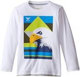 Armani Junior Eagle Logo Tee Boy's T Shirt