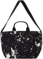 3.1 Phillip Lim Black Paint Splatter East West Tote
