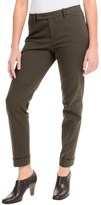 Lafayette 148 New York Slim Cuff Pants - Extended Tab Waistband (For Women)