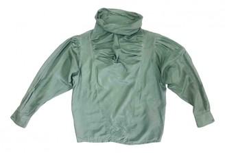 Everlane Green Silk Top for Women