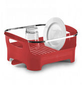 Umbra Basin Dish Rack Red
