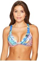 Maaji Melodious Collage Fixed Halter Women's Swimwear