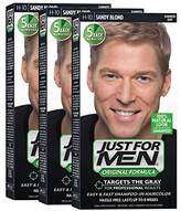 Just For Men Original Formula Men's Hair Color, Sandy Blond (Pack of 3)