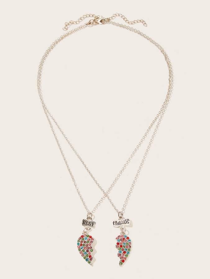 69e1b6005c Engraved Heart Necklace - ShopStyle