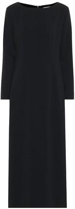 The Row Crepe maxi dress
