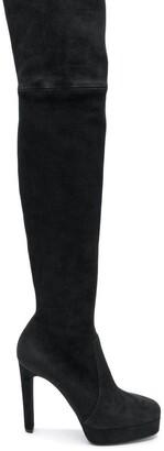 Casadei over-the-knee platform boots