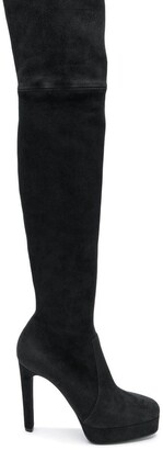 Casadei Over-The-Knee Platform Boots