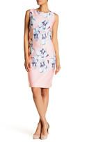 Chetta B Floral Shift Dress