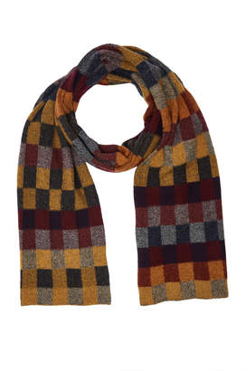 The Elder Statesman Gee's Checked Cashmere Scarf