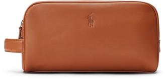Ralph Lauren Repp Leather Shaving Kit