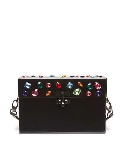 Edie Parker Small Jewelie Trunk Bag
