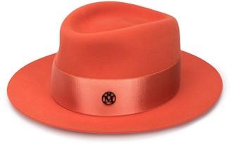 Maison Michel Ribbon Detail Hat