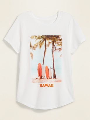 Old Navy Hawaii Graphic Soft-Washed Tee for Women