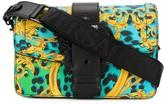 Versace baroque animal print shoulder bag