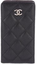 Chanel Quilted Caviar iPhone Case