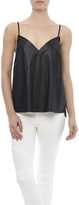 Blaque Label Black Vegan Leather Top